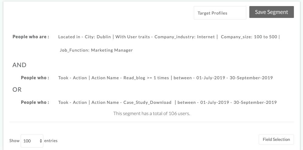 CustomerLabs_CDP_segmentation_screen